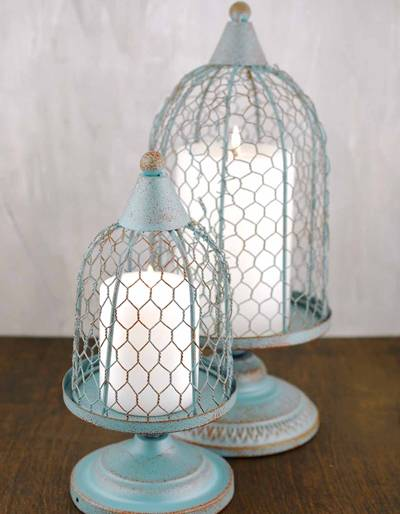 Chicken Wire Lampshade Suits For Pedant Light Table Light
