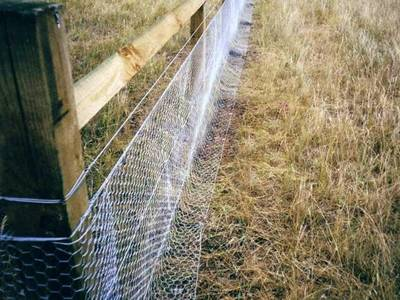 Rabbit Netting Galvanized And Pvc Coated Hexagonal Netting