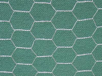 chicken wire galvanized before weave